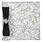 Nest Placemat - Sets of 4 - silver - Z Gallerie