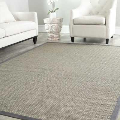 Safavieh Hand-woven Natural Fiber Uni Grey Fine Sisal Rug (8' Square) - Overstock
