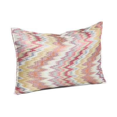 "Designer Collections by Sheri Ziggy Throw Pillow- 14""x 24""- Rasberry-Down/Feather insert - Wayfair"