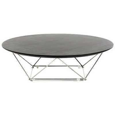 Modrest Spoke Coffee Table -Wenge - AllModern