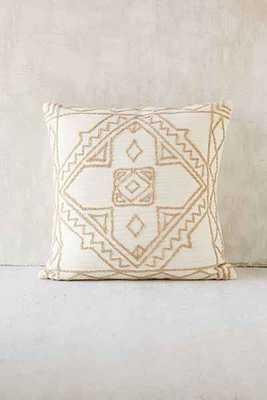 Magical Thinking Roya Crewel Tonal Pillow - Urban Outfitters