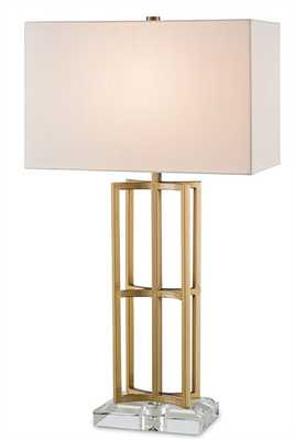 DEVONSIDE TABLE LAMP - Currey and Company
