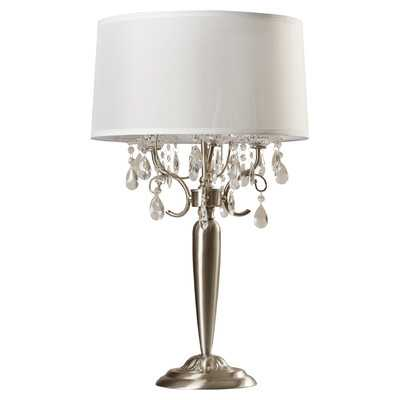 "Beccles 29.5"" H Table Lamp with Drum Shade - Wayfair"