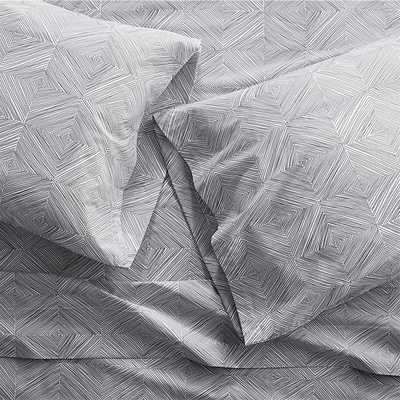 Torben Grey King Sheet Set - Crate and Barrel