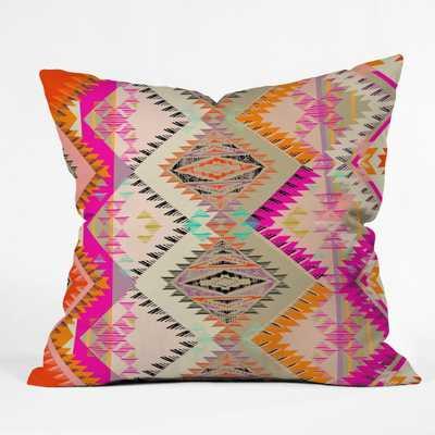 "MARKER SOUTHERN SUN Throw Pillow - 20"" x 20"", Polyester insert - Wander Print Co."