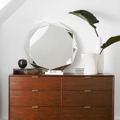 Faceted Mirror - Large - West Elm