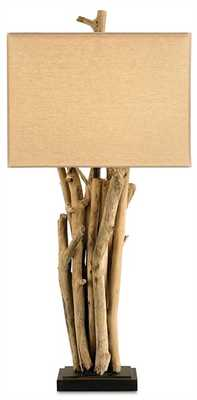 DRIFTWOOD TABLE LAMP - Currey and Company