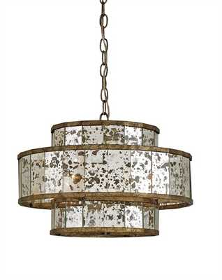 FANTINE CHANDELIER, SMALL - Currey and Company