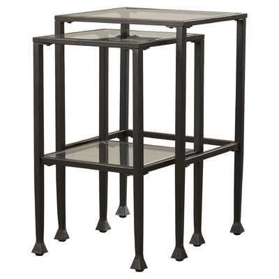 Sabrina 2 Piece Nesting Table Set - Wayfair