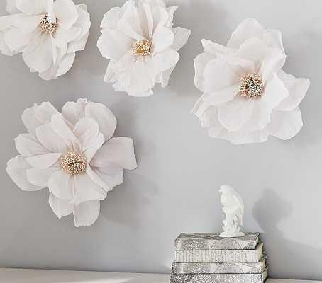 Crepe Paper Flower Decor - Set of 2 - Pottery Barn Kids