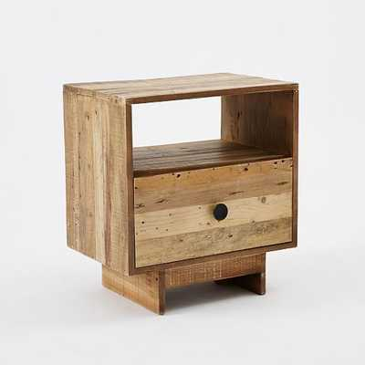 Emmerson Reclaimed Wood Nightstand - West Elm