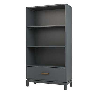 Charcoal Cargo Bookcase - Land of Nod