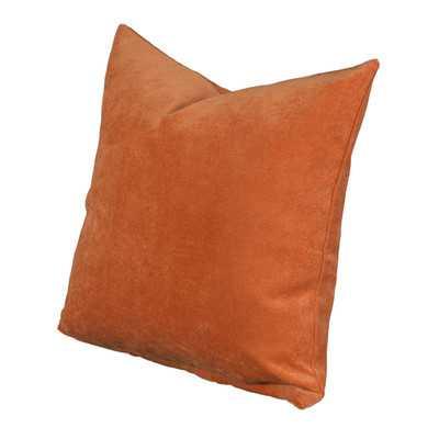 "Padma Throw Pillow-20"" x 20""-Orange -Polyester/Polyfill Insert - Wayfair"