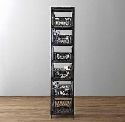 wire bin bookcase - RH Baby & Child