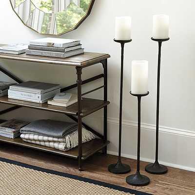Colonial Floor Candle Holder - Medium - Ballard Designs