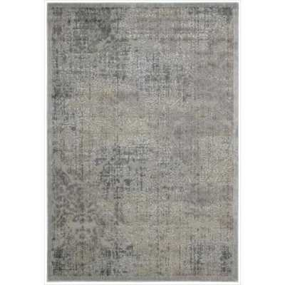 Nourison Graphic Illusions Antique Damask Pattern Rug - Overstock