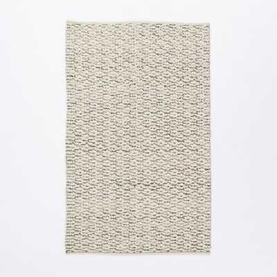 Popcorn Wool Shag Rug - 5'x8' - West Elm