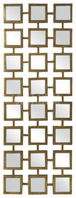 Gold Square Linking Wall Mirror - art.com