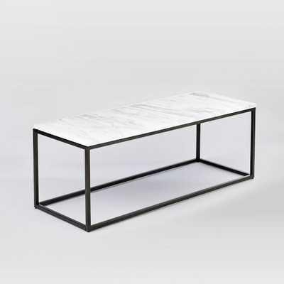 "Box Frame Coffee Table - Narrow (17"") - West Elm"