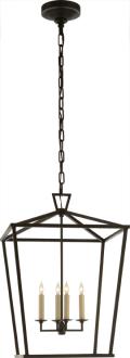 Darlana medium lantern - Aged Iron - Circa Lighting