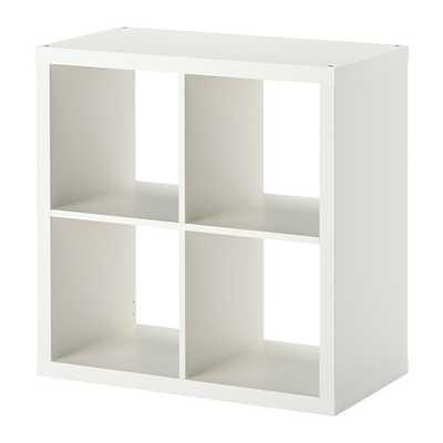 KALLAX Shelving unit, white - Ikea