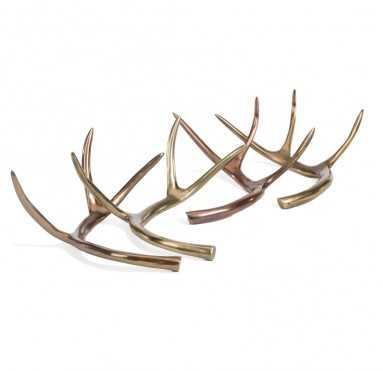 Deer Antlers - Set of 2 - GoldLeaf Design Group