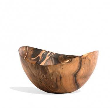 """Mochaware 11""""OD Bowl Wood - GoldLeaf Design Group"""