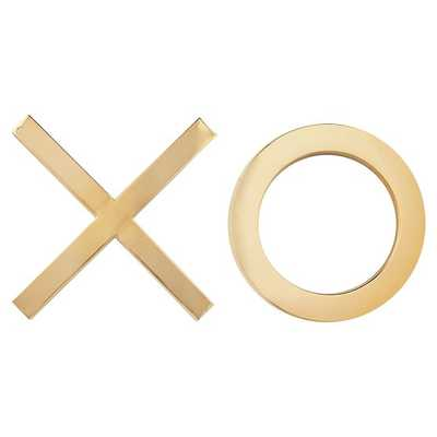 The Emily & Meritt XOXO Wall Decor, Set of 2 - Pottery Barn Teen