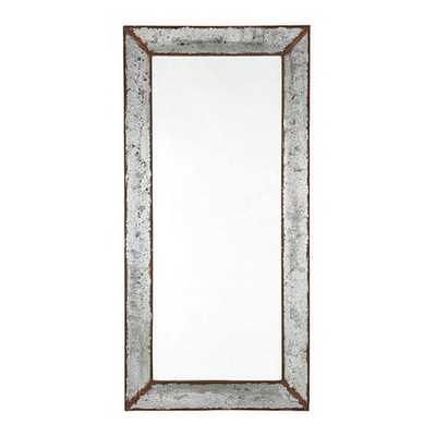 Zinc Framed Mirror - Leaner - Ballard Designs