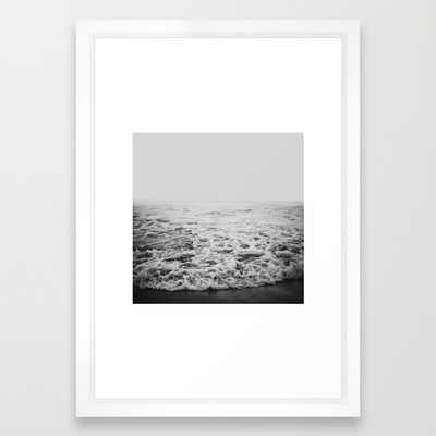 Infinity - 15x21 -  Vector White Frame - Society6