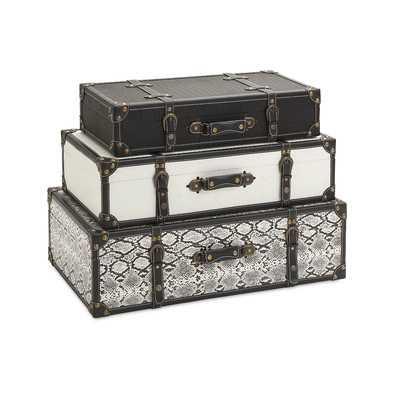 3 Piece Aberdeen Storage Trunk Set - Wayfair