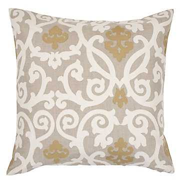 "Gabriel Pillow 24""  - Feather insert included - Z Gallerie"