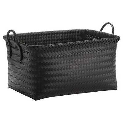 Large Woven Rectangular Storage Basket - Target