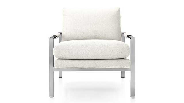 Milo Chair - Cream - Crate and Barrel