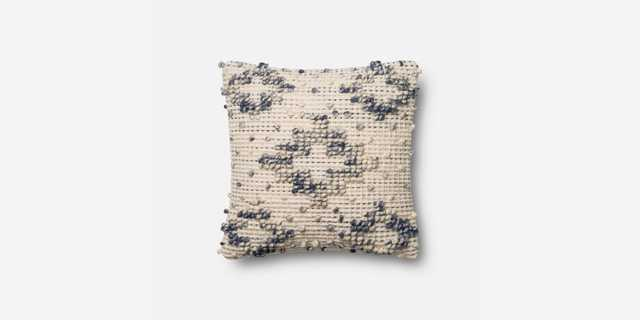 P0420 MH BLUE / IVORY - Down insert - Magnolia Home by Joana Gaines Crafted by Loloi Rugs
