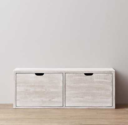 tribeca storage - double drawer - RH Baby & Child