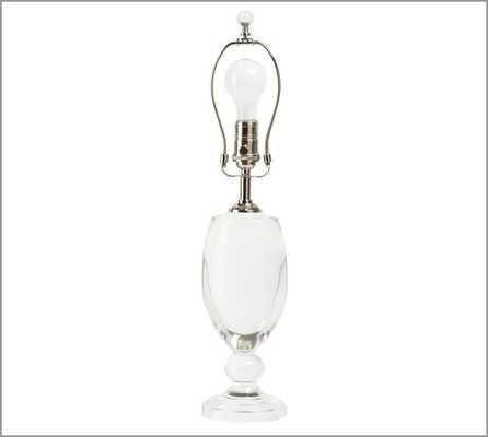 Lexington Crystal Table Lamp Base - Pottery Barn
