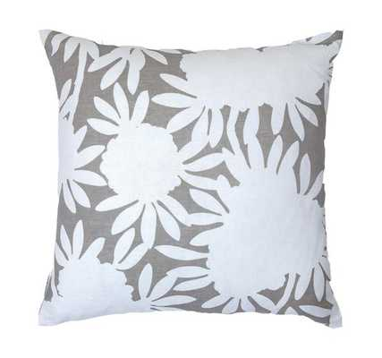 """Grey Silhouette Pillow- 24""""x24"""" - Insert Not Included - Caitlin Wilson"""