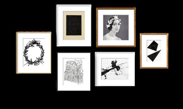 Monochromatic Melancholy Collection - Artfully Walls
