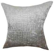 "Jensine Solid Pillow - 12"" x 18"" - Polyester Insert - Linen & Seam"