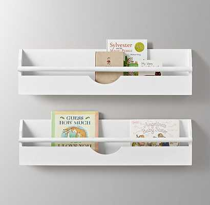Weathered Wall Bookrack Small - RH Baby & Child