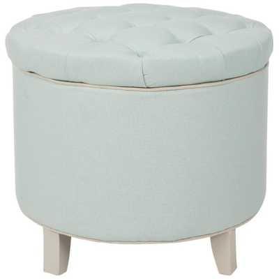 Rocco Upholstered Storage Ottoman - AllModern