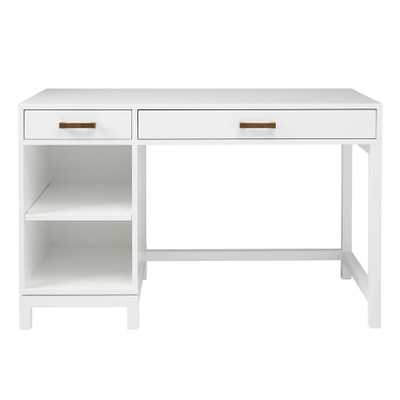Cargo Desk & Hutch (white) - Land of Nod
