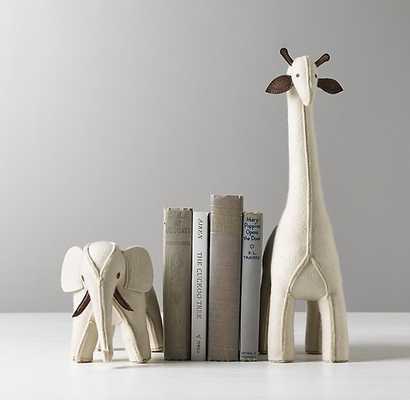 wool felt animal bookend-Elephant - RH Baby & Child
