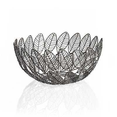 Leaf Wire Basket - Crate and Barrel
