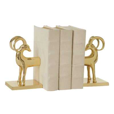 DwellStudio Gazelle Bookends - Domino