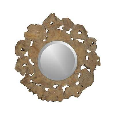 Root Round Wall Mirror - Crate and Barrel