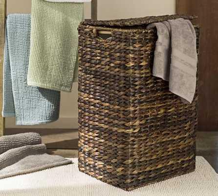 Perry Hamper & Liner- Havana Weave - Pottery Barn