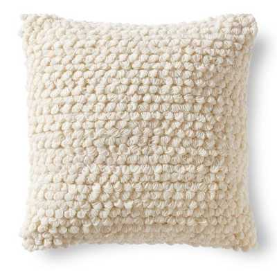 HONEYCOMB THROW PILLOW -Neutral-20'' x 20''-insert not included - Grandin Road