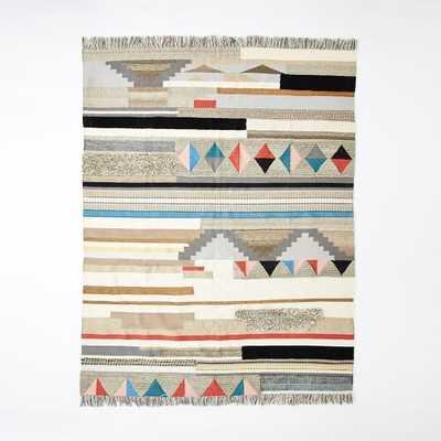 Boho Textured Wool Rug - 8x10 - West Elm
